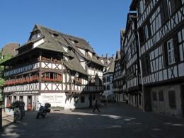 Strassburg La Petite France ehemaliges Gerber-und Fischervirtel