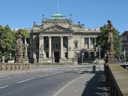 Strassburg Palais de Justice Justizpalast