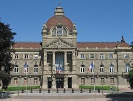 Strassburg Palais du Rhin am Platz der Republick