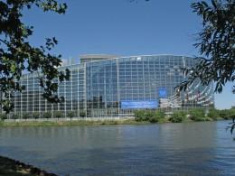 Strassburg Europaparlament Suedansicht