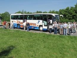 Jahresausflug 2005  Anreise nach Prag