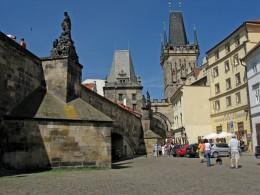 Jahresausflug 2005  Prag  Kleinseitner Brueckenturm