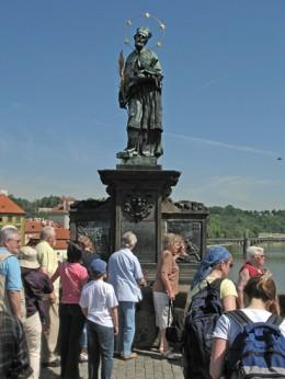 Jahresausflug 2005  Prag  Hl. Johann von Nepomuk