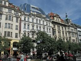 Jahresausflug 2005  Prag  Wenzelsplatz