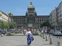 Jahresausflug 2005  Prag  Nationalmuseum am Wenzelsplatz