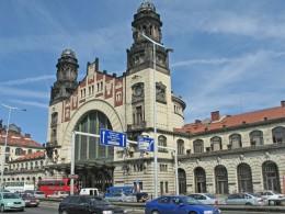 Jahresausflug 2005  Prag  Hauptbahnhof