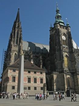 Jahresausflug 2005  Prag  Skt. Veit Doms und Adalbert Dom