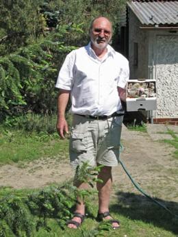 Jahresausflug 2005  Besuch bei Karel Rys