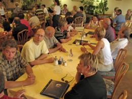 Jahresausflug 2005  Mittagessen im Gasthof Opel
