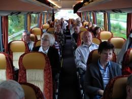 Jahresausflug 2006 Hinfahrt zu Andreae