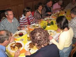 Jahresausflug 2006 Mittagessen