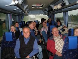 Jahresausflug 2007 Anreise nach Pittenhart