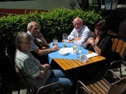 Jahresausflug 2007 Mittagessen in Odelzhausen