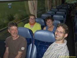 DKG-Jahresausflug Prag 2014 Fahrt zu Pavel Pavlicek