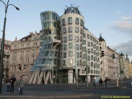 DKG-Jahresausflug Prag 2014 Prager Impressionen Tanzendes Haus