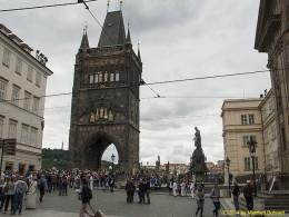 DKG-Jahresausflug Prag 2014 Prager Impressionen Altstädter Brückenturm an der Karlsbrücke