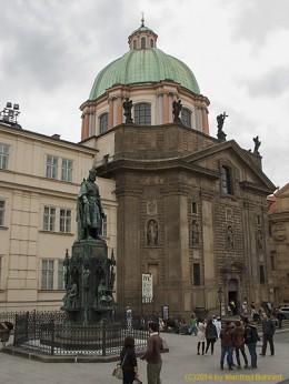 DKG-Jahresausflug Prag 2014 Prager Impressionen Karls Denkmal