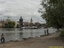 DKG-Jahresausflug Prag 2014 Prager Impressionen Blick auf die Karlsbrücke