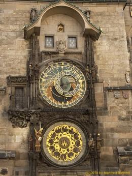 DKG-Jahresausflug Prag 2014 Prager Impressionen Astronomische Uhr am Rathaus