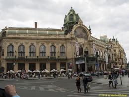 DKG-Jahresausflug Prag 2014 Prager Impressionen Obecni Dum Gemeindehaus