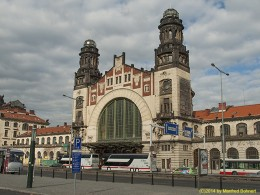 DKG-Jahresausflug Prag 2014 Prager Impressionen Hauptbahnhof