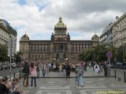 DKG-Jahresausflug Prag 2014 Prager Impressionen Nationalmuseum am Wenzelsplatz