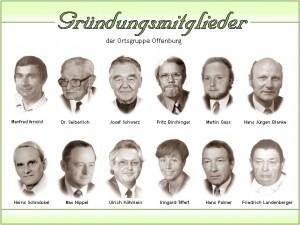 Gründungsmitglieder der Ortsgruppe Offenburg